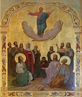 Храмовая икона «Вознесение Господне»